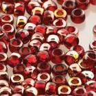Matubo ruby - Gold capri - Glas - 8/0
