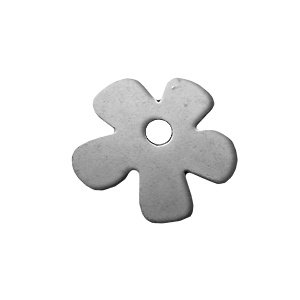 Bloem - Oud zilver - 35mm