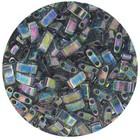 Transp Dark Grey Rainbow Luster (2440D)