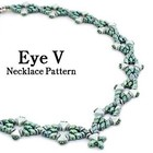 Exclusief schema Puca - Eye V Necklace