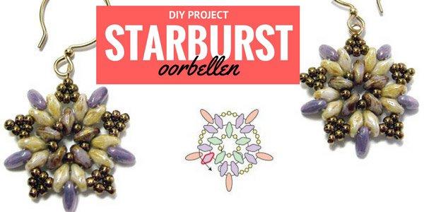 DIY project: Stardust oorbellen