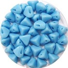 Super-Khéops - Opaque Blue Turquoise - 6x6mm