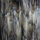 Bullseye - Streaky White/Dark Brown - 12.5x14.5cm