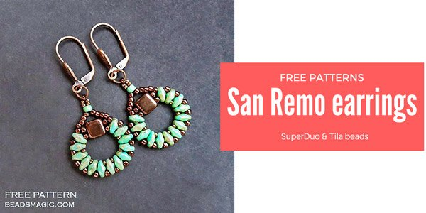 DIY project: San Remo oorbellen