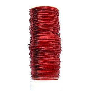 50gr Koperdraad - Rood - 0.50mm