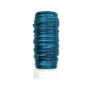 50gr Koperdraad - Turquoise - 0.50mm