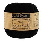 Scheepjes Maxi Sugar Rush- Haakdraad - 50gr - Zwart