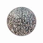 Rocailles 11/0 - Transparant binnenkant grijs