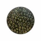 Rocailles 9/0 - Bruin/groen metallic