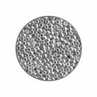 Rocailles 11/0 - Zilver metallic