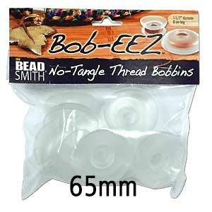 Bob-eez (Kumihimo draad klosjes) - 65mm (8 Stuks)