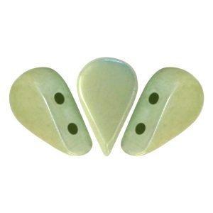 Amos Par Puca - Glas - Opaque Light Green Ceramic Look
