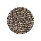 Rocailles Miyuki 8/0 - Duracoat Galvanized Pewter (n°4222) - 6.5gr