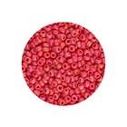 Rocailles Miyuki 8/0 - Opaque Vermillion Red (n°407) - 6.5gr