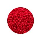 Rocailles Miyuki 8/0 - Opaque Red (n°408) - 6.5gr