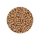 Rocailles Miyuki 8/0 - Galvanized Yellow Gold (n°1052) - 6.5gr