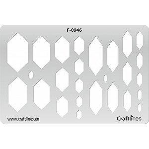 Uitsnijvorm - Hexagonaal Slank