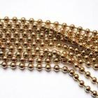 Ketting bolletjes - Goud - Metaal - 3mm