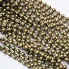 Bolletjes ketting - Bronskleur - Metaal - 3mm