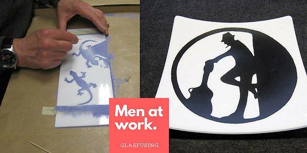 Fotolog: Men at work - Sgraffito