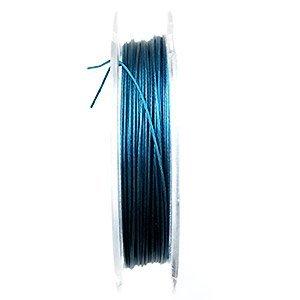 Metaaldraad - Donker turquoise - Metaaldraad - 0.38mm - 10m
