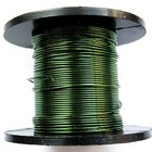 Wire draad - Olijfgroen - Metaaldraad - 0.50mm