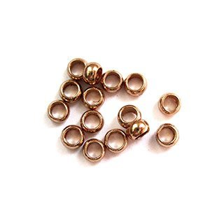 Tonnetje - Rosé gold - Metaal - 3mm
