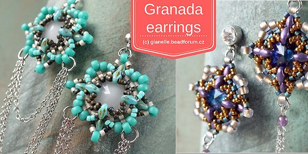 DIY tutorial: Granada Earrings