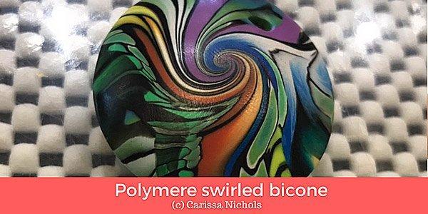 Video tutorial: Polymere swirled bicone