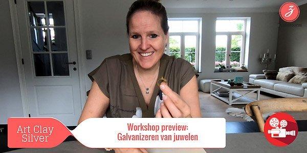 ZandstormTV - Workshop preview : vergulden van zilverklei juwelen