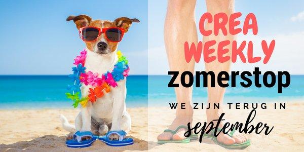 Zomerstop! Goodbye CreaWeekly