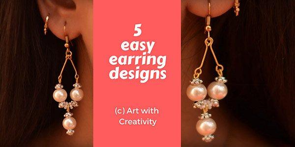 Video tutorial: 5 easy earring designs