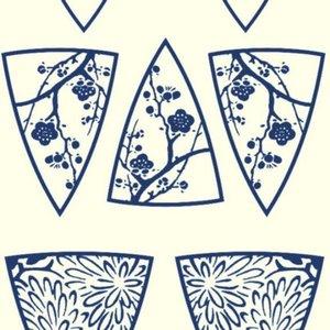 Texture Paper - Japanese Garden Shapes