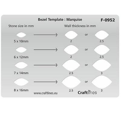 Uitsnijvorm - Marquise Template