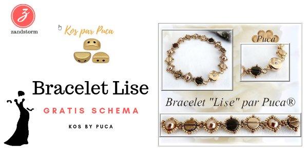 Gratis schema - Bracelet Lise by Puca