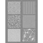 Sjabloon Geometrique - 114x153 mm