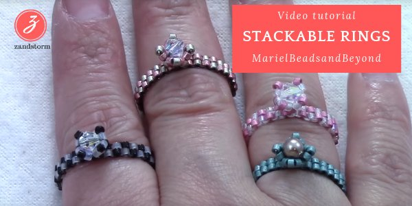 Video tutorial - Square stackable ring