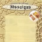 Textuurmat Flexibel - Mozaique - 12x18cm