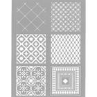 Sjabloon Carreaux Ciment - 114x153 mm