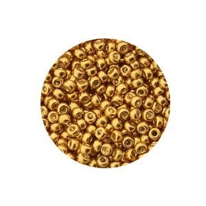 Rocailles Miyuki 11/0 - Duracoat Galvanized Gold - 10gr - (N° 4202)