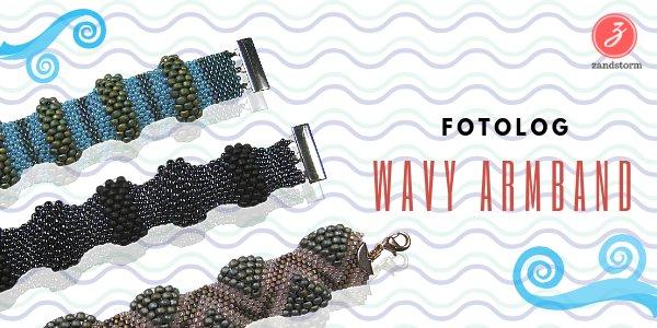 Fotolog - Wavy armband