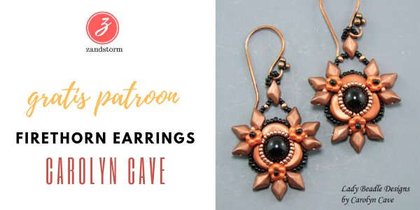 Tutorial - Firethorn Earrings