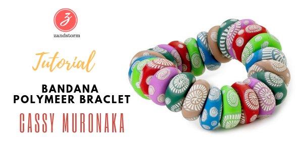 Tutorial - Bandana Polymeer Bracelet