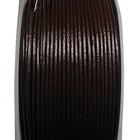 Rond leder - Donker bruin - Leder - 1.5mm