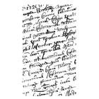 Siliconen Stempel Transparant Handschrift