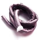 Gevulde zijden koord - Lila - 1m - 8mm