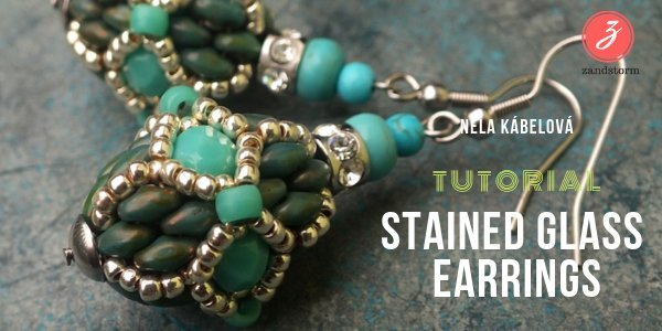 Tutorial: Stained Glass Earrings