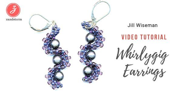 Tutorial:  Whirlygig earrings
