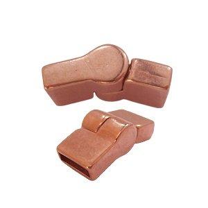Magneetslot scharnier - Rosé goud - 36x12mm/voor 10mm