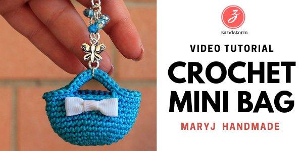 Video tutorial: Crochet mini-bag